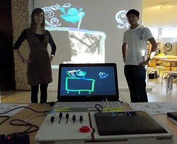 Die Workshopleiter Teresa Grünhage (Museumspädagogik) und Christian Spieß Quelle: http://www.abenteuer-ruhrpott.info/ver_tagtool.html
