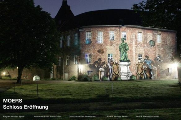 Fassadenprojektion - Grafschafter Museum