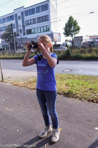 Kinder auf Fototour