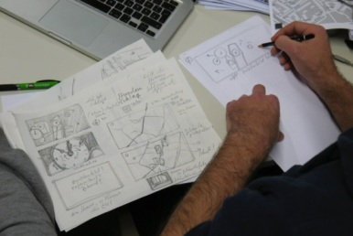 Making Of Storyboard