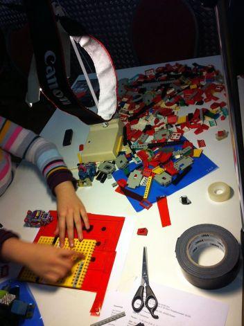 Lego Tricktisch